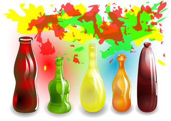 funny colored drinks