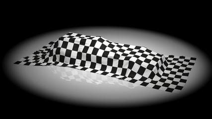Presentation of formula car
