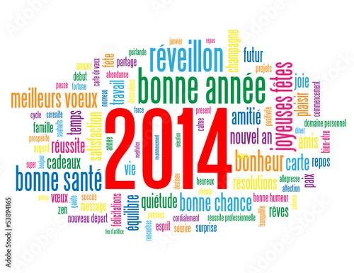 Fabuleux Carte de Vœux 2014 (bonne année joyeuses fêtes nouvel an voeux  HZ42