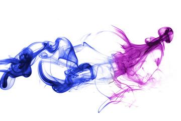 Rauch farbig