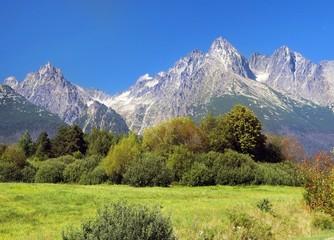 High Tatra Mountains in summer, Slovakia