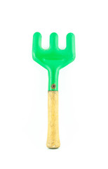 Garden tool isolated on white background - gardening tools