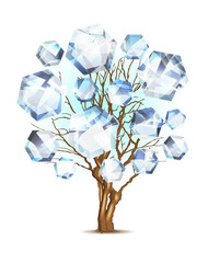 Diamond tree for your design