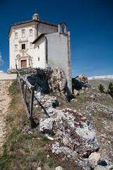 Santa Maria della Pietà wall Rocca Calascio