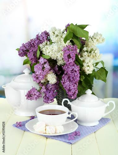 природа цветы сирень сахар блюдо  № 1154371 без смс
