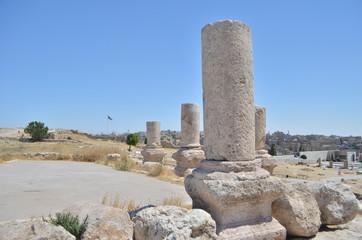 Antique Column in Amman
