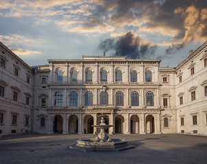 Fototapete - Palazzo Barberini. Rome. Italy.