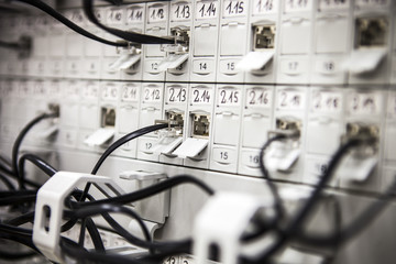 Kommunikation  Kabel Anschlüsse