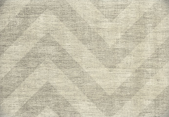 Light elegant chevron pattern background, grunge canvas texture