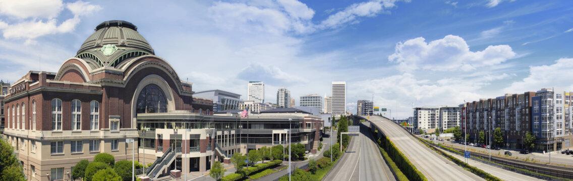Freeways to City of Tacoma Washington