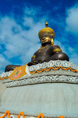Buddha statue under blue sky 2