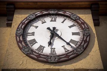 tower old vintage clock
