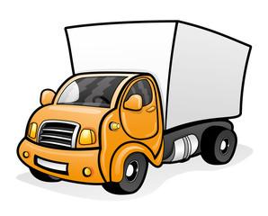 Cartoon truck.