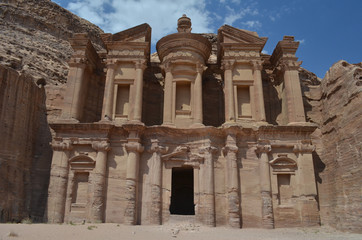 The Monastery (Al Deir) of Petra - Jordan