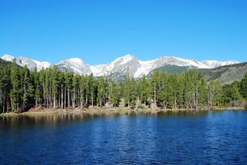 Wall Mural - Sprague lake, Rocky Mountain National Park, CO, USA