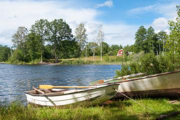 Ursprüngliche Landschaft in Südschweden