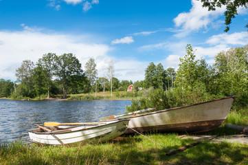Landschaft in Småland, Schweden
