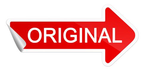 Original Aufkleber