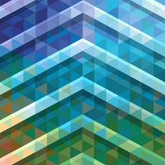 Abstract colorful polygonal ornamental background.