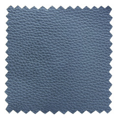 blue leather samples texture