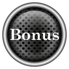 Glossy metallic icon