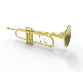 Trumpet On The Ground