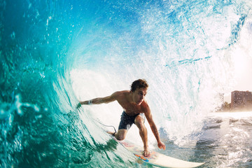 Wall Mural - Surfer
