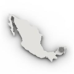 Chichen Itza map, Mexiko