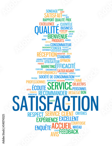 Nuage de tags satisfaction service client qualit for Domon service a la clientele