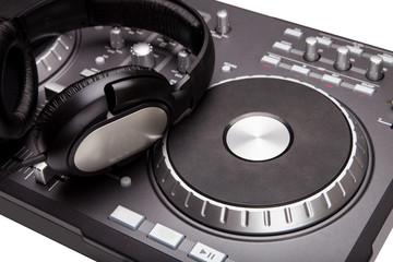 dj mixer isolated
