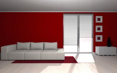 modern room - Wohndesign - Sofa