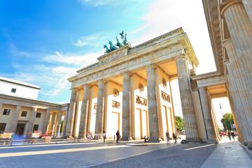 Tuinposter Berlijn Brandenburg gate of Berlin, Germany