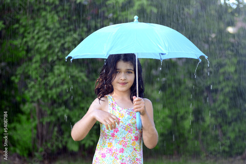 photo of girls with umbrellas № 22154