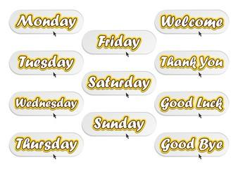 calendar days set
