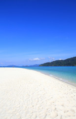 Beautiful tropical landscape. Lipe island, Thailand