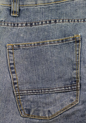 Jeanshosentasche