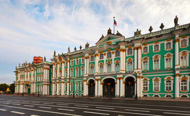 Winter Palace in Saint Petersburg