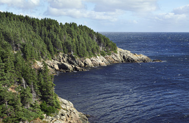 Küste in Kanada