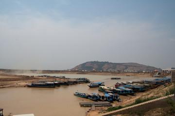 On banks of river near Tonle Sap Lake