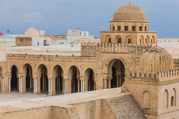 Poster de jardin Tunisie mosque in Kairouan, Tunisia