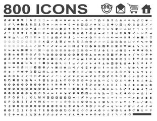 800 Icons