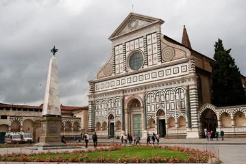 Fototapeta premium Florencja, Santa Maria Novella