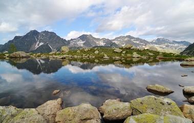 Paesaggio in montagna