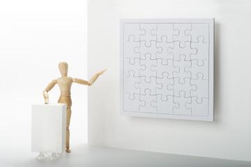 Puzzle Kunstwerk