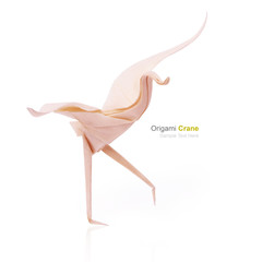 Origami tender crane