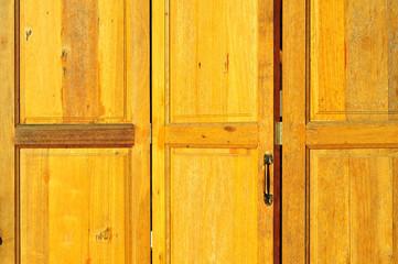 flip wood door