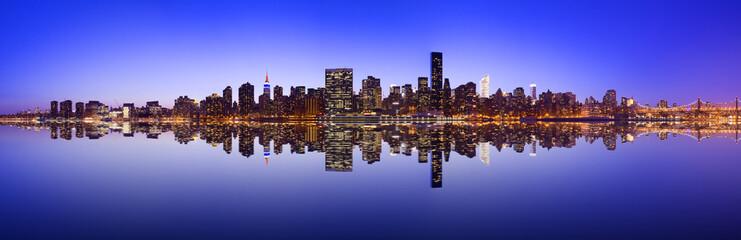 Midtown Manhattan Skyline Panorama Fototapete