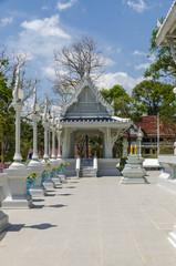 Buddhist temple complex in Krabi Thailand