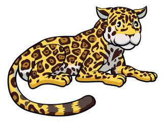 Cartoon Jaguar Cat
