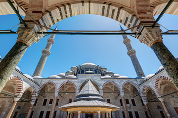 The Fatih Mosque (Conqueror's Mosque) in Istanbul, Turkey